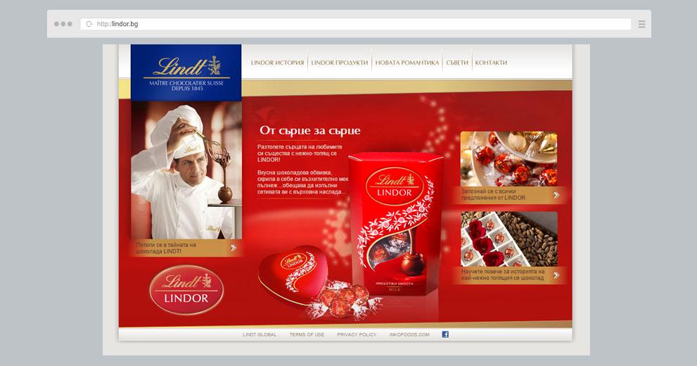 Web site: Lindor.bg